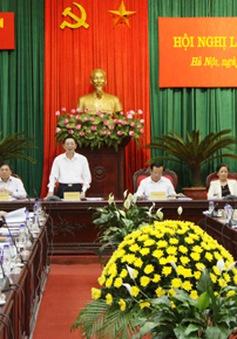Hội nghị Ban chấp hành Đảng bộ Thành phố Hà Nội
