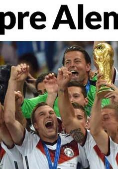 Vô địch World Cup, báo chí Đức hết lời ca ngợi đội nhà
