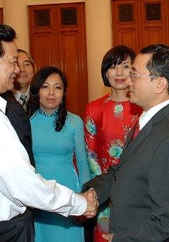 Thủ tướng tiếp các Đại sứ và Tổng lãnh sự mới được bổ nhiệm