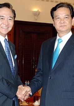 Thủ tướng tiếp Thống đốc tỉnh Kanagawa, Nhật Bản