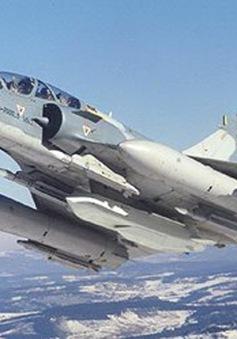 Máy bay chiến đấu của Pháp bị rơi