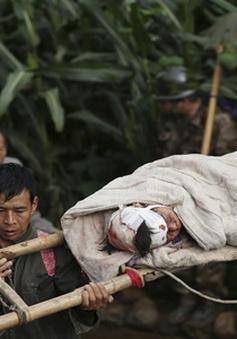 Nỗ lực cứu hộ sau trận động đất ở Trung Quốc gặp khó