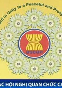 SOM ASEAN hoàn tất văn kiện trình Hội nghị AMM-47