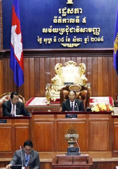 55 nghị sỹ Đảng Cứu quốc đối lập dự họp Quốc hội Campuchia