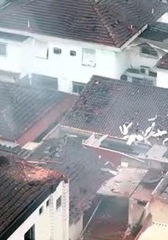 Máy bay rơi, ứng cử viên Tổng thống Brazil thiệt mạng
