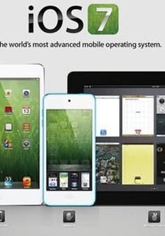 iOS 7 sẽ ra mắt trong tháng 6?