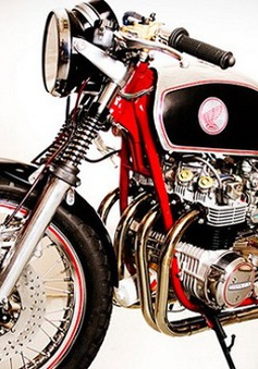 "Cafe Overkill - Honda CB550K ""lột xác"""