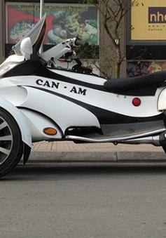 Ngỡ ngàng với Can-Am 3 bánh tự chế của người Việt