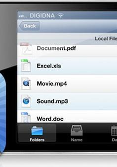 Ứng dụng quản lý dữ liệu trên iOS
