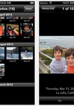 Phần mềm quản lý ảnh hiệu quả trên iPhone