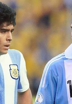 """Messi khiêm tốn tự nhận """"dưới cơ"""" Maradona"""