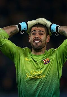 """Victor Valdes viết tâm thư """"đẫm nước mắt"""" chia tay Barcelona"""