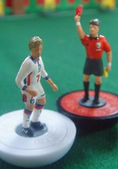 Tái hiện khoảnh khắc lịch sử tại World Cup qua mô hình Subboteo sống động