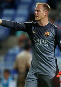 """Barca đón tin dữ: """"Người nhện"""" Stegen dính chấn thương trước thềm mùa giải mới"""
