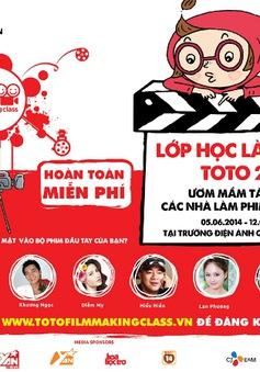 Lớp học làm phim Toto 2014:  Cơ hội cho bạn trẻ yêu điện ảnh