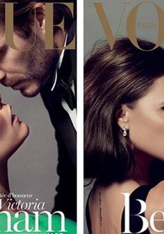 Vợ chồng nhà Becks say đắm trên Vogue