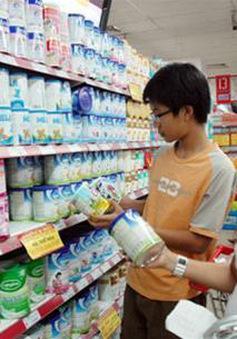 Cấm in hình ảnh trẻ em trên một số sản phẩm sữa