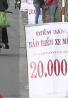 Bảo hiểm xe máy giá chỉ... 20.000 đồng