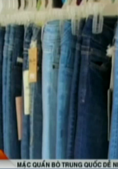 Công nghệ mài quần jeans của Trung Quốc dễ gây bệnh nan y