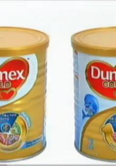 615 thùng sữa Dumex Gold bị thu hồi