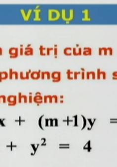 BTKTVH: Giải hệ phương trình