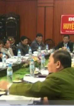 Huyện Phú Xuyên họp khẩn để giải quyết tình trạng cát tặc