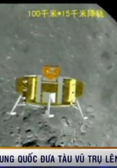 Trung Quốc triển khai thành công xe tự hành trên Mặt Trăng