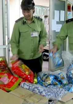Hà Nội: Tịch thu 60 tấn bánh kẹo, sữa nhập lậu vào Hà Nội