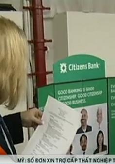 Mỹ: Số đơn xin trợ cấp thất nghiệp tuần qua giảm mạnh
