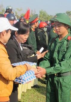 Đắk Lắk giao quân đợt 1 năm 2014