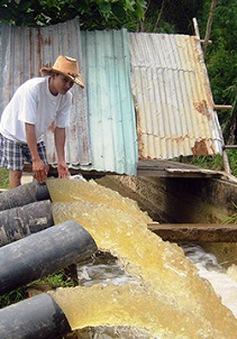 Quảng Nam ráo riết chống hạn cứu lúa Đông Xuân