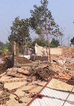 Họp báo về xử lý vi phạm trật tự xây dựng tại huyện Thạch Thất