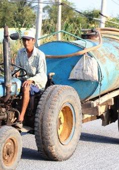 Bến Tre: 1m3 nước ngọt có giá hơn... 10kg gạo