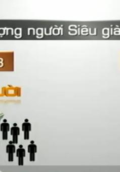 Số người siêu giàu Việt Nam gấp 3 lần 10 năm trước