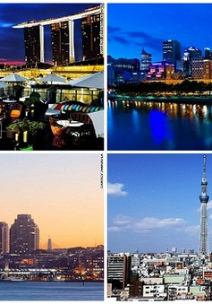 Top 10 thành phố đắt đỏ nhất thế giới năm 2014