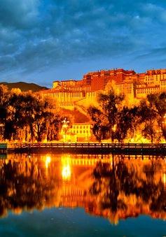 Lung linh vẻ đẹp cung điện Potala về đêm