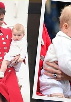 Hoàng tử bé nước Anh đáng yêu trong lần đầu công du