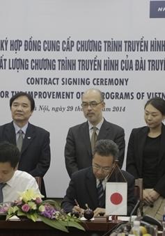 Đài THVN và NHK International ký Hợp đồng cung cấp chương trình truyền hình