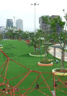 Ghé thăm hai công viên dành cho trẻ nhỏ đẹp nhất Hà Nội