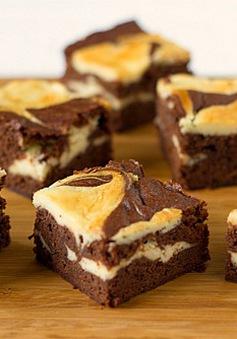 Bánh creamcheese brownies: Vừa ngon vừa dễ làm