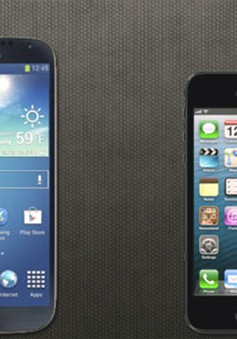 So sánh nhanh Galaxy S4 và iPhone 5