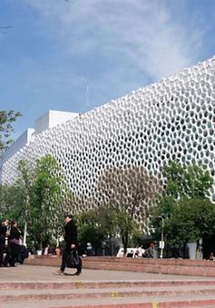 Xây bệnh viện bằng vật liệu làm sạch không khí