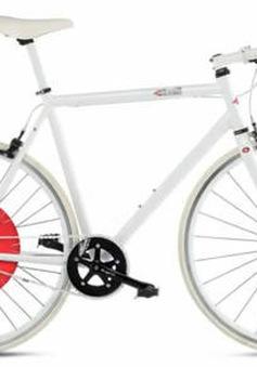 Đạp xe không tốn sức nhờ bánh xe kiểu mới