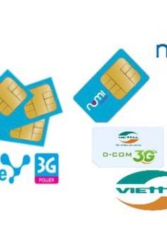 Sẽ xử lý vụ tăng cước 3G trong tháng 1/2014