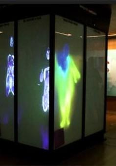 Gương 3D soi nội tạng khi bước qua