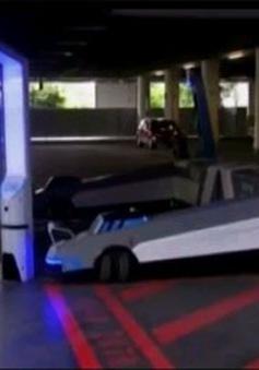Robot giúp đỗ xe tự động tại Đức