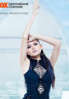 Như Thảo diện váy ống trong buổi chụp nội y ở Asia's Next Top