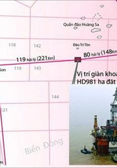 Gặp gỡ khán giả VTV4: Giải đáp về việc Trung Quốc đặt giàn khoan trái phép trên vùng biển của Việt Nam (18h30, 17/5, VTV4)