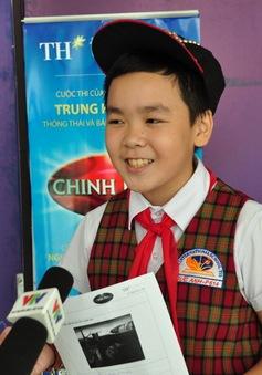 Thí sinh Giọng hát Việt nhí tham gia gameshow Chinh phục