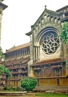 """Kiến trúc Pháp trong lòng Hà Nội: """"Nhà thờ Cửa Bắc"""""""